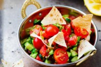 Nomad Breads Fattoush Salad Recipe