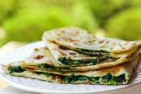 Nomad Breads Spinach Quesadilla Recipe