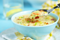 Prawn and Corn Chowder