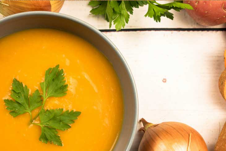 Sweet Potato Soup Recipe Nomad Breads